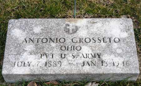 GROSSETO, ANTONIO - Crawford County, Ohio | ANTONIO GROSSETO - Ohio Gravestone Photos