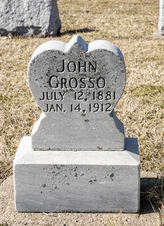 GROSSO, JOHN - Crawford County, Ohio | JOHN GROSSO - Ohio Gravestone Photos