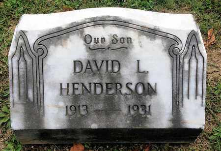 HENDERSON, DAVID - Crawford County, Ohio | DAVID HENDERSON - Ohio Gravestone Photos