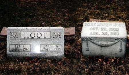 HOOT, WADE MORRIS - Crawford County, Ohio | WADE MORRIS HOOT - Ohio Gravestone Photos