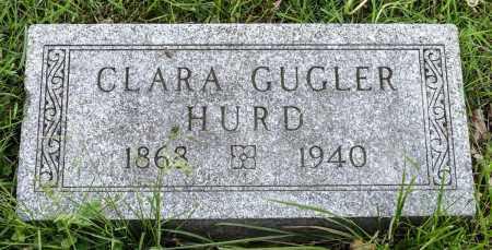 GUGLER HURD, CLARA ELIZABETH - Crawford County, Ohio | CLARA ELIZABETH GUGLER HURD - Ohio Gravestone Photos