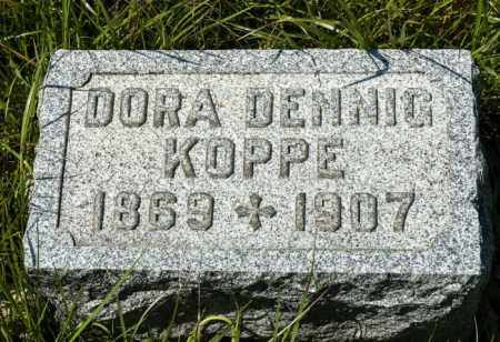 DENNIG KOPPE, DORA - Crawford County, Ohio | DORA DENNIG KOPPE - Ohio Gravestone Photos