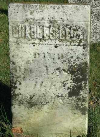 LYON, CHARLES - Crawford County, Ohio | CHARLES LYON - Ohio Gravestone Photos