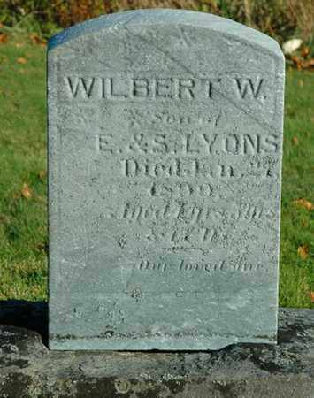 LYONS, WILBERT W. - Crawford County, Ohio | WILBERT W. LYONS - Ohio Gravestone Photos