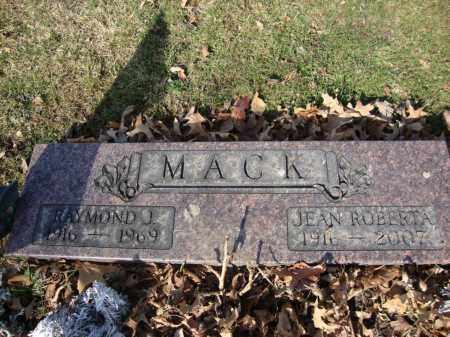 MACK, RAYMOND JAMES - Crawford County, Ohio | RAYMOND JAMES MACK - Ohio Gravestone Photos