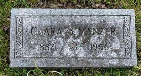 MANZER, CLARA B. - Crawford County, Ohio | CLARA B. MANZER - Ohio Gravestone Photos