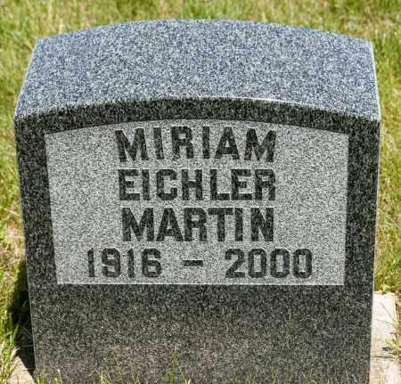 MARTIN, MIRIAM - Crawford County, Ohio | MIRIAM MARTIN - Ohio Gravestone Photos