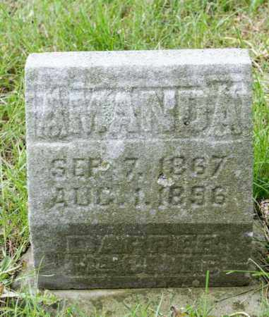 MCCLURE, AMANDA ISABEL - Crawford County, Ohio | AMANDA ISABEL MCCLURE - Ohio Gravestone Photos