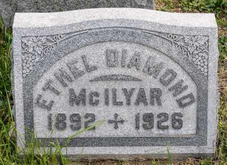 DIAMOND MCILYAR, ETHEL MARGARET - Crawford County, Ohio | ETHEL MARGARET DIAMOND MCILYAR - Ohio Gravestone Photos