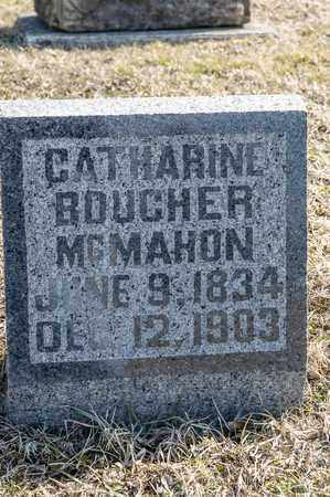 BOUCHER MCMAHON, CATHARINE - Crawford County, Ohio | CATHARINE BOUCHER MCMAHON - Ohio Gravestone Photos