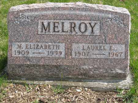 MELROY, M. ELIZABETH - Crawford County, Ohio | M. ELIZABETH MELROY - Ohio Gravestone Photos