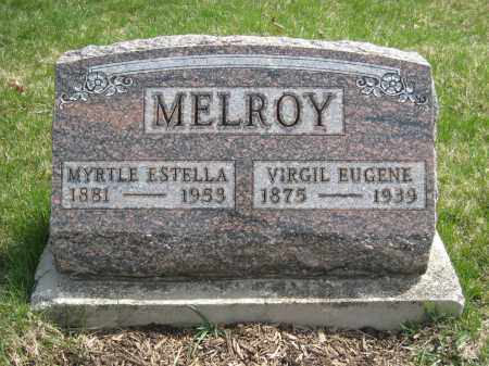 MELROY, MYRTLE ESTELLA - Crawford County, Ohio | MYRTLE ESTELLA MELROY - Ohio Gravestone Photos