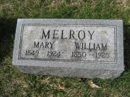 MELROY, MARY - Crawford County, Ohio | MARY MELROY - Ohio Gravestone Photos