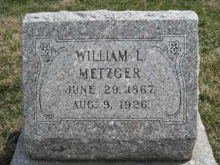 METZGER, WILLIAM L. - Crawford County, Ohio | WILLIAM L. METZGER - Ohio Gravestone Photos