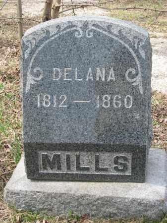 MILLS, DELANA - Crawford County, Ohio | DELANA MILLS - Ohio Gravestone Photos