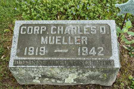 MUELLER, CHARLES D. - Crawford County, Ohio | CHARLES D. MUELLER - Ohio Gravestone Photos