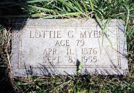 MYERS, LOTTIE - Crawford County, Ohio | LOTTIE MYERS - Ohio Gravestone Photos