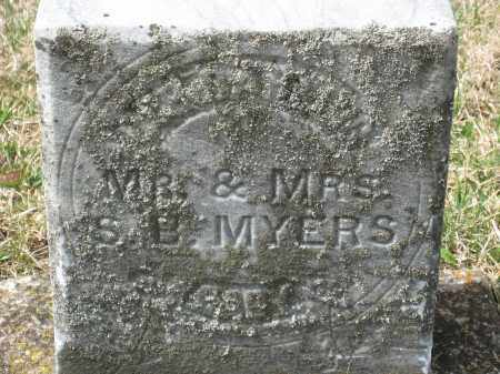 MYERS, MARTHA? - Crawford County, Ohio | MARTHA? MYERS - Ohio Gravestone Photos