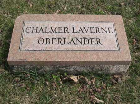 OBERLANDER, CHALMER LAVERNE - Crawford County, Ohio | CHALMER LAVERNE OBERLANDER - Ohio Gravestone Photos