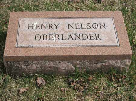 OBERLANDER, HENRY NELSON - Crawford County, Ohio | HENRY NELSON OBERLANDER - Ohio Gravestone Photos