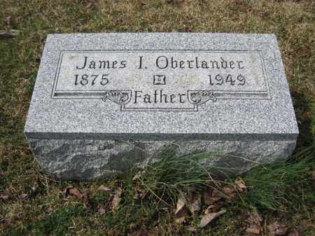OBERLANDER, JAMES I - Crawford County, Ohio | JAMES I OBERLANDER - Ohio Gravestone Photos