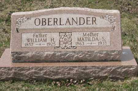 OBERLANDER, WILLIAM H - Crawford County, Ohio | WILLIAM H OBERLANDER - Ohio Gravestone Photos
