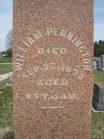 PENNINGTON, WILLIAM - Crawford County, Ohio | WILLIAM PENNINGTON - Ohio Gravestone Photos