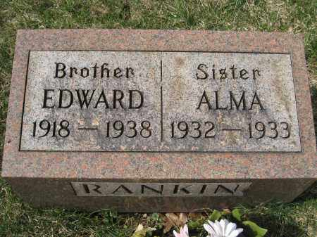 RANKIN, EDWARD - Crawford County, Ohio | EDWARD RANKIN - Ohio Gravestone Photos