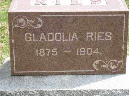 RIED, GLADOLIA - Crawford County, Ohio | GLADOLIA RIED - Ohio Gravestone Photos