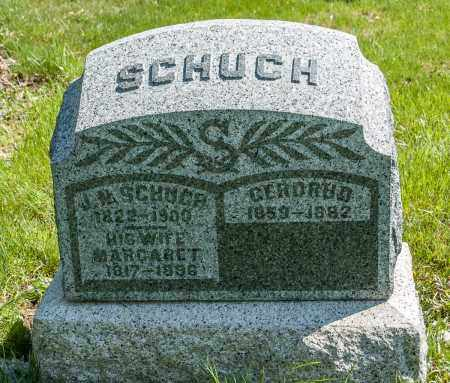 SCHUCH, J. N. - Crawford County, Ohio | J. N. SCHUCH - Ohio Gravestone Photos