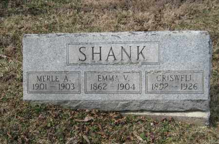 SHANK, MERLE A - Crawford County, Ohio | MERLE A SHANK - Ohio Gravestone Photos