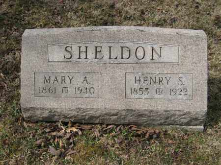SHELDON, HENRY S - Crawford County, Ohio | HENRY S SHELDON - Ohio Gravestone Photos