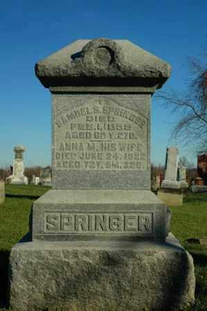 SPRINGER, ANNA M. - Crawford County, Ohio | ANNA M. SPRINGER - Ohio Gravestone Photos