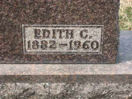 VALENTINE CLOSEUP, EDITH C. - Crawford County, Ohio | EDITH C. VALENTINE CLOSEUP - Ohio Gravestone Photos