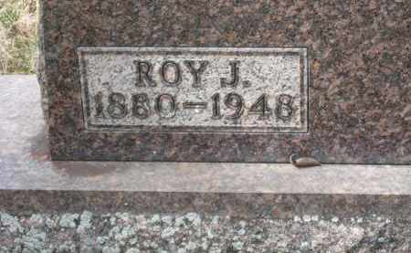 VALENTINE CLOSEUP, ROY J. - Crawford County, Ohio | ROY J. VALENTINE CLOSEUP - Ohio Gravestone Photos