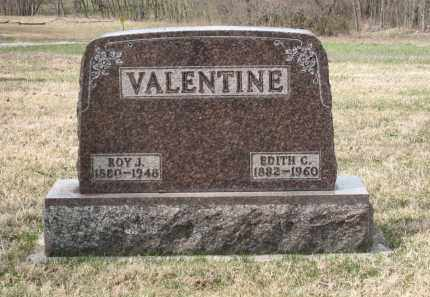 VALENTINE, ROY J. - Crawford County, Ohio | ROY J. VALENTINE - Ohio Gravestone Photos