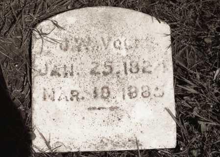 VOLK, J.W. - Crawford County, Ohio   J.W. VOLK - Ohio Gravestone Photos