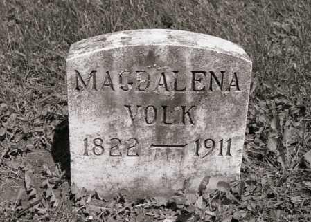 VOLK VOLK, MAGDALENA - Crawford County, Ohio | MAGDALENA VOLK VOLK - Ohio Gravestone Photos