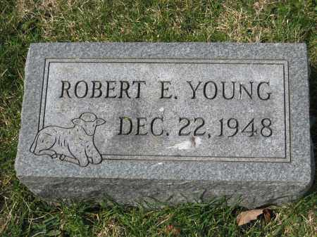 YOUNG, ROBERT E. - Crawford County, Ohio | ROBERT E. YOUNG - Ohio Gravestone Photos