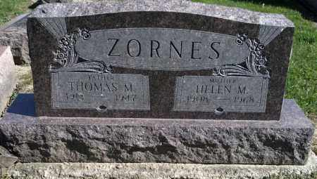 YOUNG ZORNES, HELEN M. - Crawford County, Ohio | HELEN M. YOUNG ZORNES - Ohio Gravestone Photos