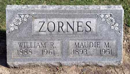 ZORNES, WILLIAM R. - Crawford County, Ohio | WILLIAM R. ZORNES - Ohio Gravestone Photos