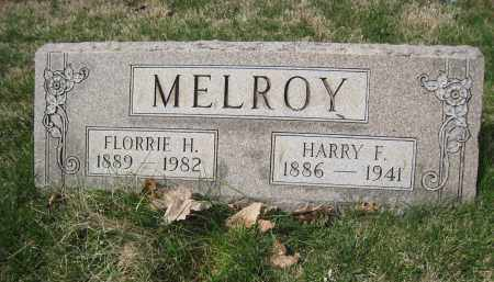MELROY, FLORRIE H - Crawford County, Ohio | FLORRIE H MELROY - Ohio Gravestone Photos