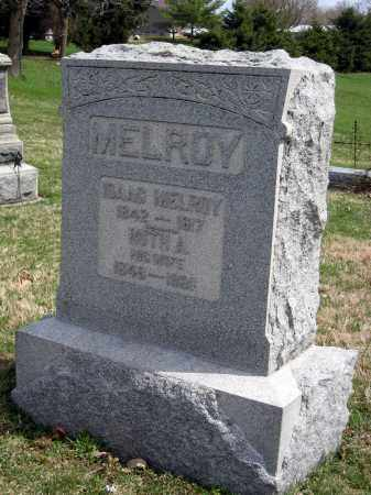 MELROY MONUMENT, ISAAC - Crawford County, Ohio | ISAAC MELROY MONUMENT - Ohio Gravestone Photos