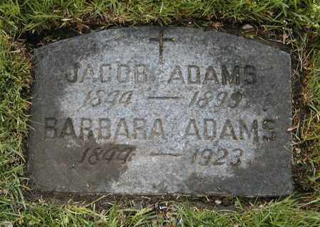 ADAMS, BARBARA - Cuyahoga County, Ohio | BARBARA ADAMS - Ohio Gravestone Photos