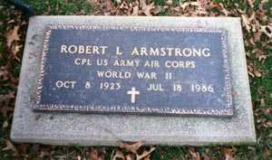 ARMSTRONG, ROBERT L. - Cuyahoga County, Ohio | ROBERT L. ARMSTRONG - Ohio Gravestone Photos
