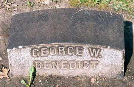 BENEDICT, GEORGE WRIGHT - Cuyahoga County, Ohio | GEORGE WRIGHT BENEDICT - Ohio Gravestone Photos