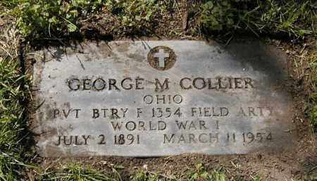 COLLIER, GEORGE M. - Cuyahoga County, Ohio | GEORGE M. COLLIER - Ohio Gravestone Photos