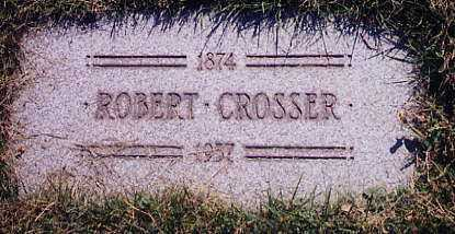CROSSER, ROBERT - Cuyahoga County, Ohio | ROBERT CROSSER - Ohio Gravestone Photos