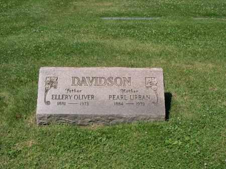 DAVIDSON, ELLERY O. - Cuyahoga County, Ohio | ELLERY O. DAVIDSON - Ohio Gravestone Photos