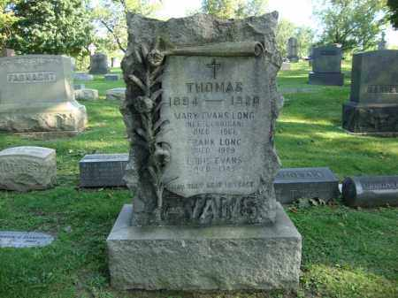 EVANS, LOUIS - Cuyahoga County, Ohio | LOUIS EVANS - Ohio Gravestone Photos